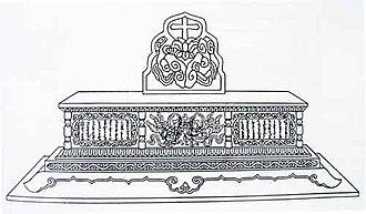 Nestorian cross - Image: Nestorian Altar type Grave Monument