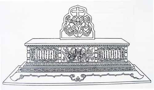 Nestorian Altar-type Grave Monument