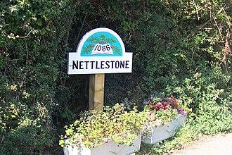 Nettlestone - Sign seen on entering Nettlestone