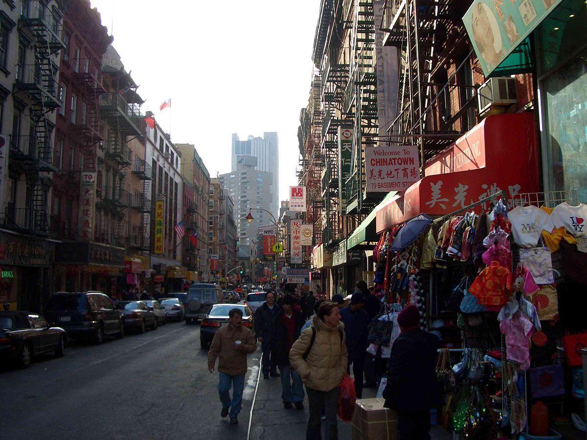 Manhattan/Chinatown – Reiseführer auf Wikivoyage