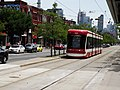 New Flexity LR vehicles approach Spadina and College, 2016 07 21 (4).JPG - panoramio.jpg