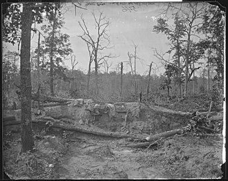 Battle of New Hope Church - Image: New Hope Battlefield, Ga., 1864 NARA 524956