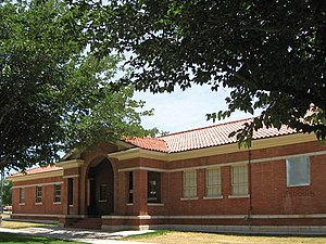 National Register of Historic Places listings in Otero County, New Mexico - Image: New Mexico School for the Blind Central Receiving building
