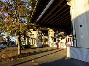 Shōnan Station - Image: New Shuttle Shōnan Station 20151104