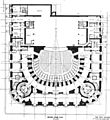 New Theatre - ground floor plan - The Architect 1909.jpg