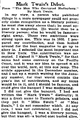 New York Times, Mark Twain's Debut.png