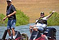 "New buddies (""Take a Warrior Fishing"" event at Success Lake) (8716031876).jpg"