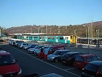 Newbridge (Caerphilly) railway station.JPG