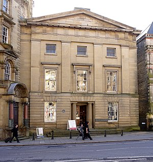 Literary and Philosophical Society of Newcastle upon Tyne - Image: Newcastle Literary and Philosophical Society, Westgate Road geograph.org.uk 1736286