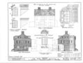 Nicholas Van Dyke Jr. House, 400 Delaware Street, New Castle, New Castle County, DE HABS DEL,2-NEWCA,11- (sheet 4 of 8).png