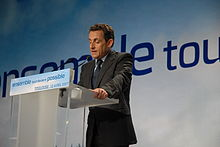 Nicolas Sarkozy - Meeting in Toulouse for the 2007 French presidential election 0297 2007-04-12.jpg