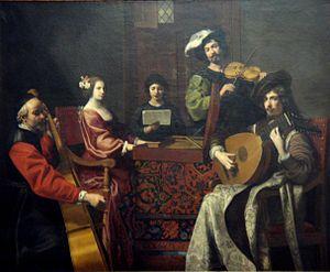 Nicolas Tournier - Nicolas Tournier's Le Concert 1630-1635.