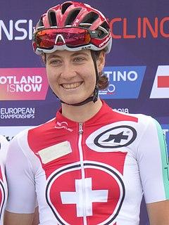Nicole Hanselmann Swiss cyclist