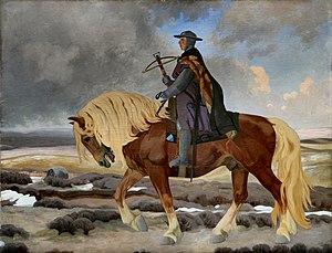 Niels Ebbesen - Niels Ebbesen, painted by Agnes Slott-Møller in 1893-1894, Randers Museum of Art.