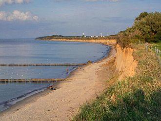 Cliffed coast - Image: Nienhagen Steilküste