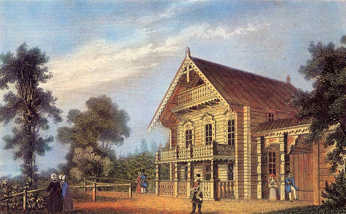 Nikolskoe Blockhaus Stahlstich nach W Loeillot 1832.jpg
