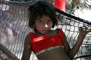 Pemon - Pemon girl, Venezuela