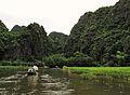 Ninh Binh on a boat (7172255185).jpg