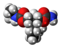 Nisobamate molecule spacefill.png