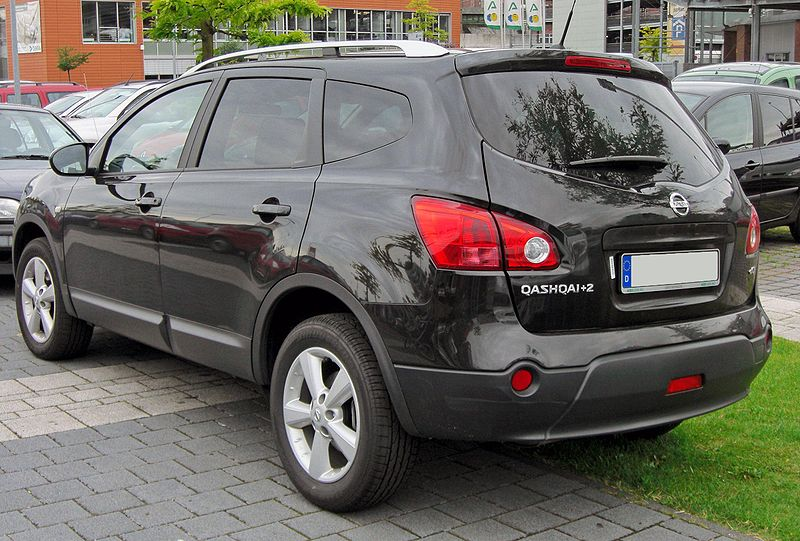 file nissan qashqai 2 20090620 rear jpg wikimedia commons. Black Bedroom Furniture Sets. Home Design Ideas