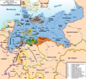 Mapa da Confederação da Alemanha do Norte