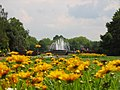 Nordpark Düsseldorf Springbrunnen.JPG