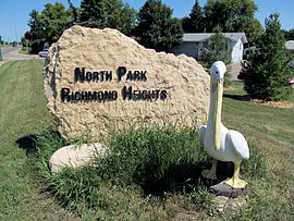 North Park welcome sign