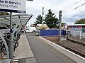 North Berwick railway station, East Lothian, Scotland. Buffer stops.jpg