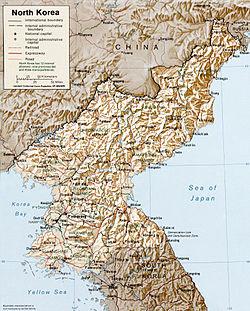 Geografia De Corea Del Norte Wikipedia La Enciclopedia Libre