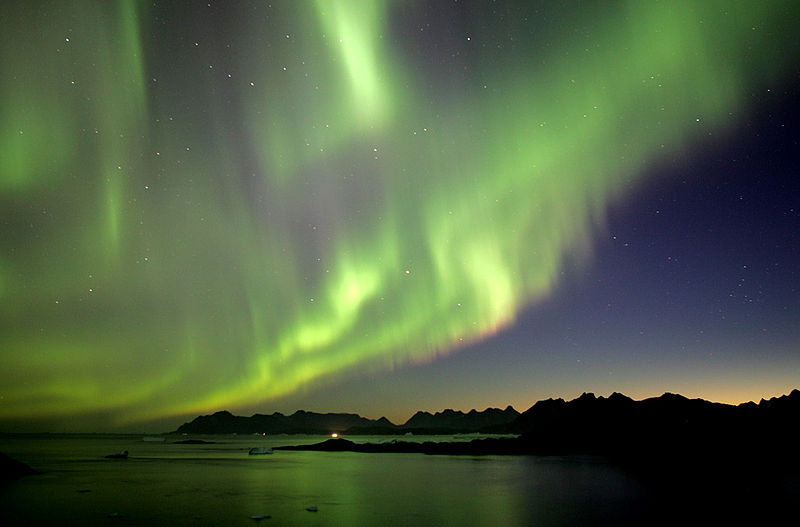 File:Northern Lights, Greenland.jpg