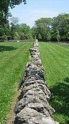 Indian Run Cemetery Stone Walls