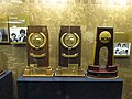 Notre Dame Trophies and Memorabilia, Joyce Center, University of Notre Dame, South Bend, Indiana (11045866204).jpg
