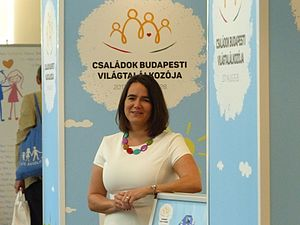 World Congress of Families - Image: Novák Katalin (2)
