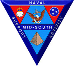 Naval Support Activity Mid-South - Image: Nsa logo 1in