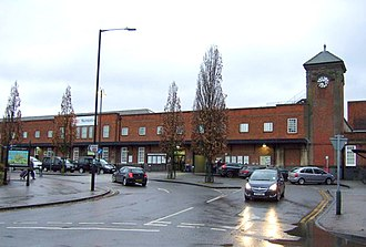 Nuneaton railway station - Station forecourt
