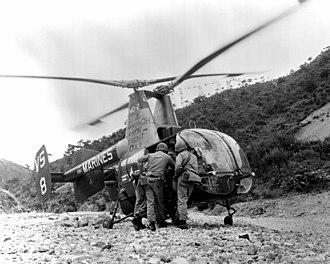 VMO-2 - An OH-43D Huskie of VMO-2 in Korea, June 1962.