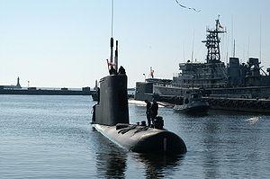 Polish submarine ORP Bielik, ex. HNoMS Svenner...