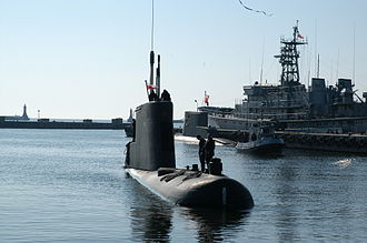 Kobben-class submarine - ORP Bielik in service with the Polish Navy (source: Polish MoD).