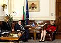 O Υπουργός Εξωτερικών Νίκος Κοτζιάς με την Πρόεδρο του Κοινοβουλίου της Βουλγαρίας, Tsetska Tsachevaον, Σόφια, 18.6.2015 (18737445730).jpg