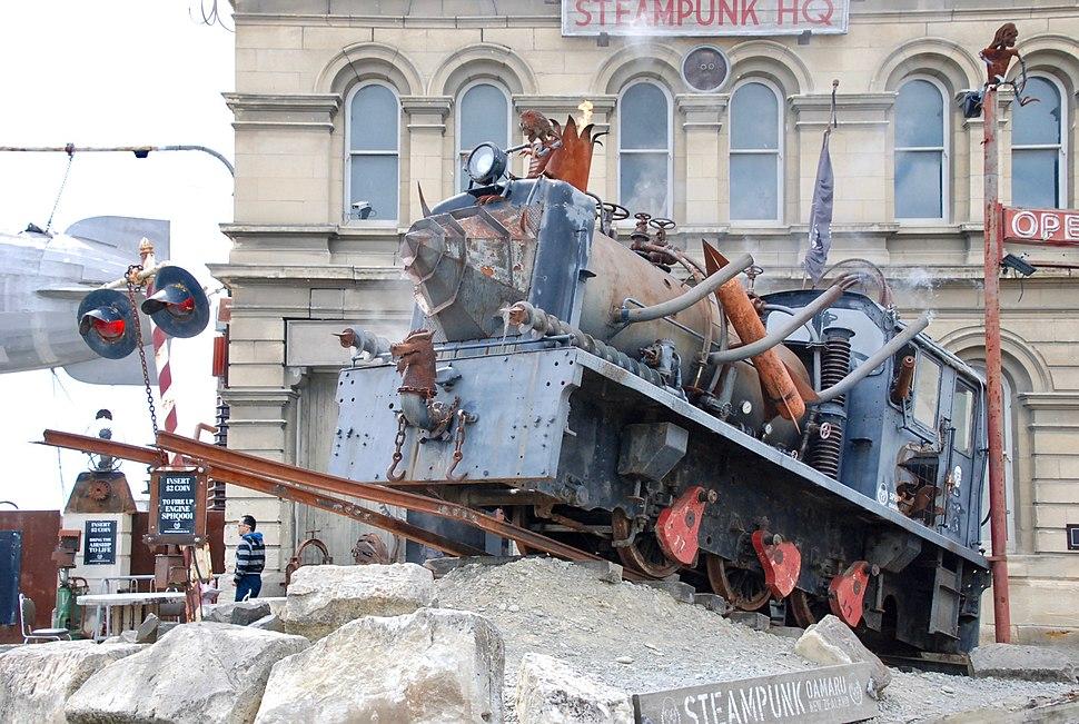 Oamaru - Steampunk museum