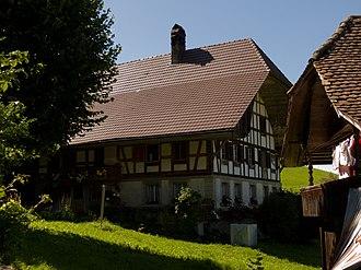 Oberbalm - Image: Oberbalm Stöckli Bauernhaus