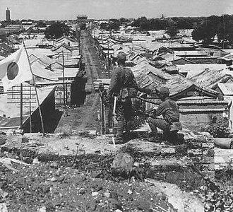 Tungchow mutiny - Image: Occupied Tongzhou by IJA