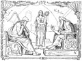 Odin and Vafþrúðnir by Frølich.jpg