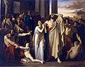 Oedipe et Antigone s'exilant de Thèbes Louis Duveau.JPG