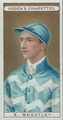 Ogden's Cigarette Card of jockey Elijah Wheatley.png