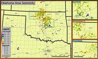 Oklahoma earthquake swarms (2009–present)