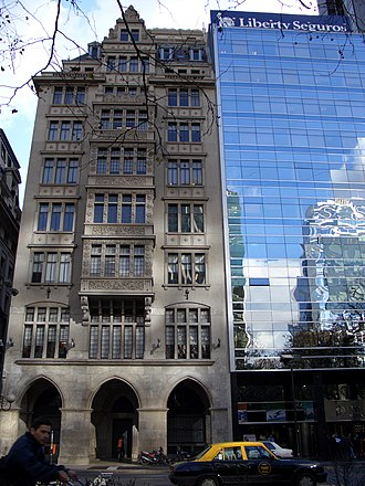 Bunge & Born - Image: Old & New Buildings in Buenos Aires