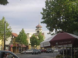 City in California