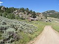 Old Farm in the Laramie Mountains - panoramio.jpg
