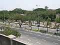 Old Mahabalipuram Road, Chennai, from MRTS.JPG
